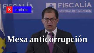 Fiscalía informa sobre resultados de mesa anticorrupción | Semana Noticias