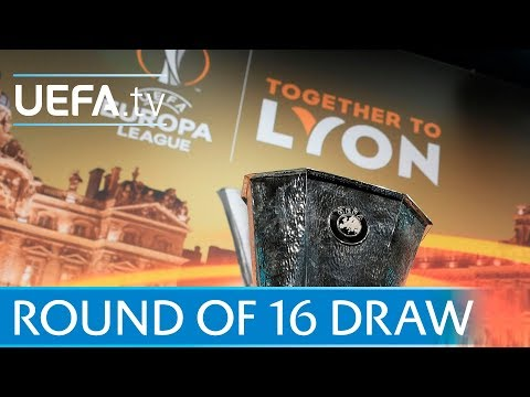 UEFA Europa League round of 16: Watch the full draw
