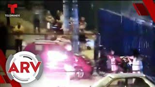 Un hombre intentó quemar viva a su pareja frente a varios peatones   Al Rojo Vivo   Telemundo