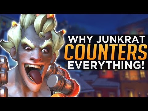 Overwatch: Junkrat Counters EVERYTHING!