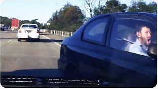Crazy Highway Crash   Dashcam Freak Out
