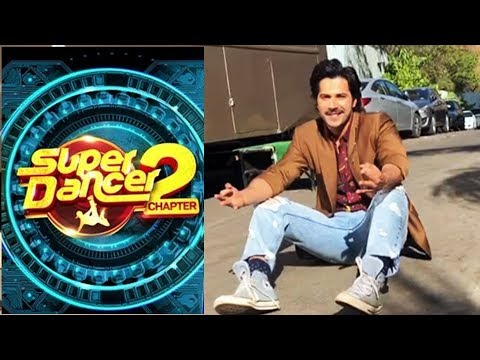 connectYoutube - Varun Dhawan SPOTTED At Super Dancer Chapter 2 | Behind The Scenes | October Promotion