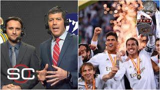 REAL MADRID, CAMPEÓN DE LA SUPERCOPA Fernando Palomo y Alex Pareja lo reviven | SportsCenter