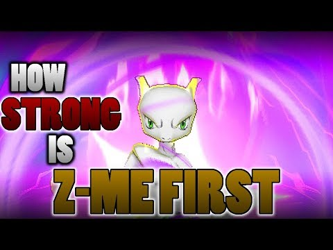 connectYoutube - Is Z-Me First The Most Powerful Z-Move In Pokemon Ultra Sun and Moon?