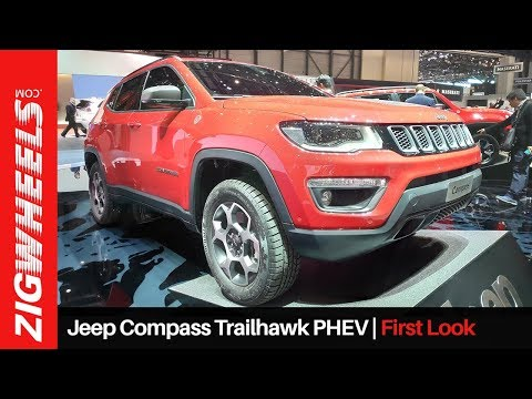 Jeep Compass Trailhawk PHEV 2019 | New Plug-in 4x4 Drivetrain And Visual Tweaks | ZigWheels.com