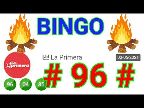 SORTEOS de HOY...!! Loteria LA PRIMERA/ BINGO HOY ((( 96 ))) Números RECOMENDADO/ RESULTADOS de HOY