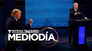 Así se vivió el último debate entre Trump y Biden | Noticias Telemundo