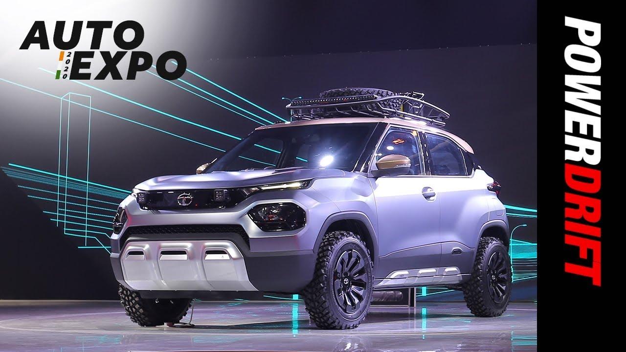 Tata HBX Concept | Dawn of micro SUVs | 2020 Auto Expo | PowerDrift