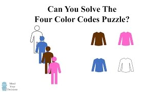 Can You Solve The Four Color Codes Riddle?