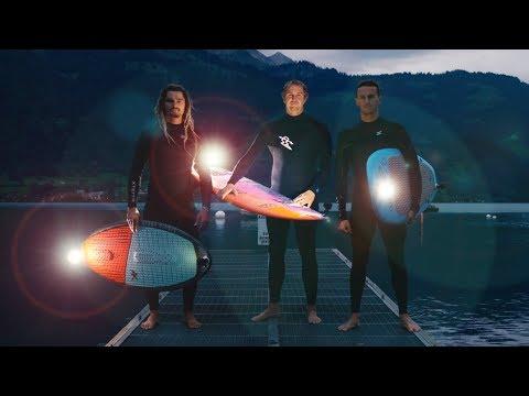 connectYoutube - World's Most Extreme Nighttime Stunts in Switzerland!