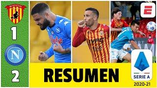 Benevento 1-2 Napoli ¡Histórico! Hermanos Insigne marcaron. Hirving Chucky Lozano, titular | Serie A