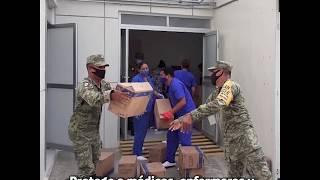 El Ejército apoya a México ante COVID-19