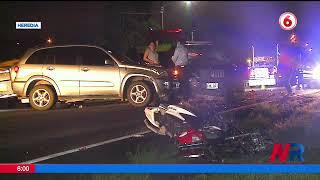 Oficial de policía muere en accidente de tránsito