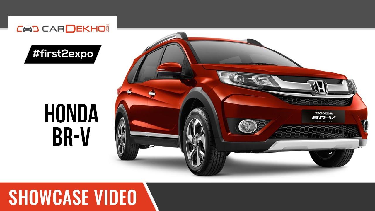 #first2expo | Honda BR-V Showcase Video | CarDekho@AutoExpo2016