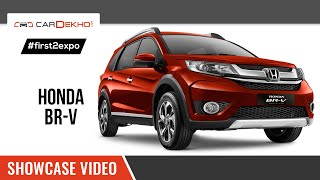 #first2expo | Honda BR-V Showcase Video | CarDekho@AutoExpo2016