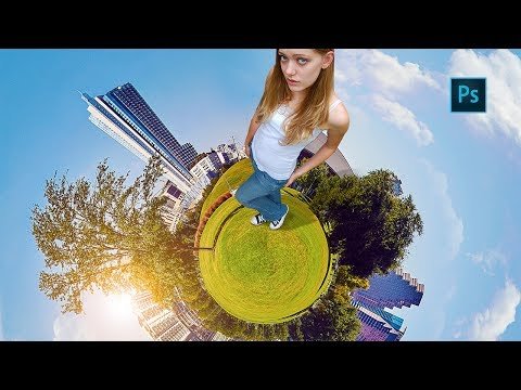 3D Planet Effect | Photoshop Tutorial