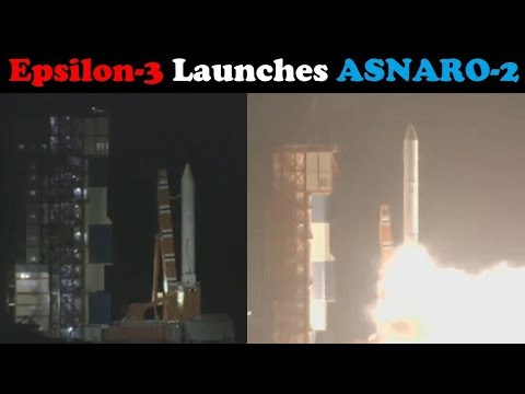 connectYoutube - Epsilon-3 Rocket Launches ASNARO-2 NEC Small Radar Satellite (イプシロンロケット3号機 高性能小型レーダ衛星)