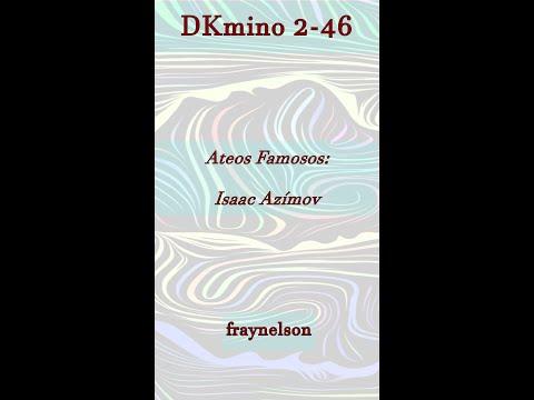 DK2-46 Ateos Famosos: Isaac Azímov