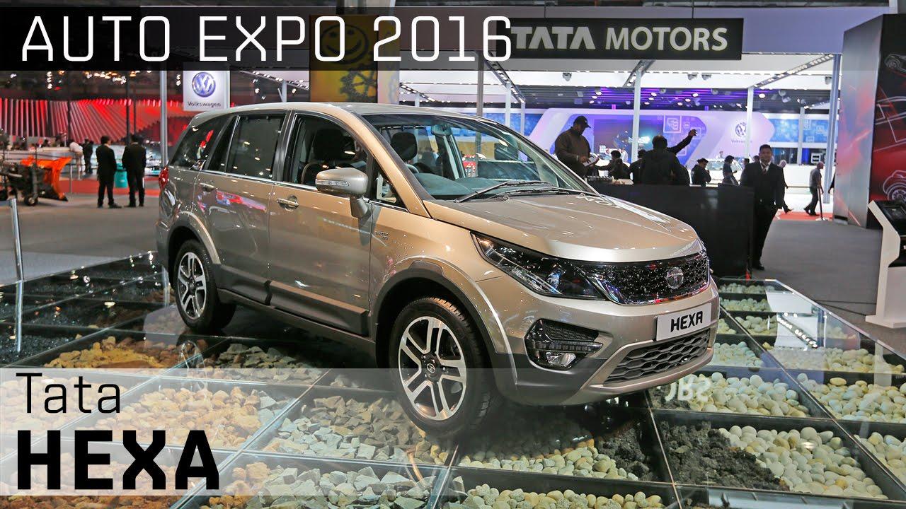 Tata Hexa :: 2016 Auto Expo WalkAround Video :: ZigWheels