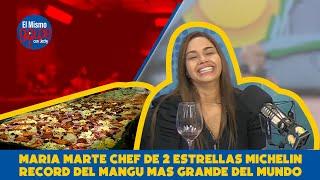 MARIA MARTE CHEF DE 2 ESTRELLAS MICHELIN RECORD DEL MANGU MAS GRANDE DEL MUNDO