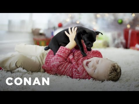 connectYoutube - What Service Is This Holiday Ad Promoting?  - CONAN on TBS