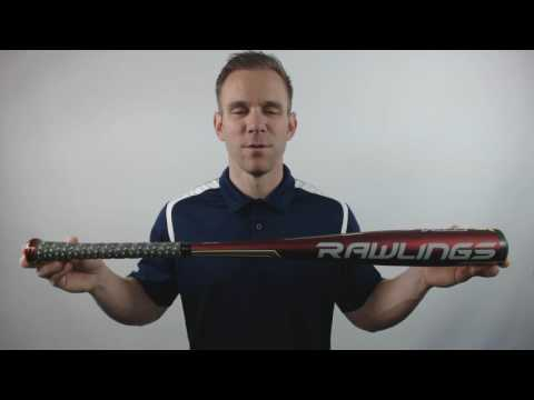 2017 Rawlings Velo BBCOR Baseball Bat: BB7V