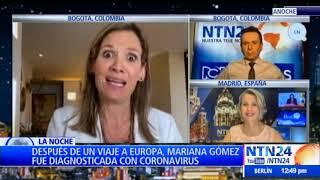 El testimonio de Mariana Gómez, una paciente colombiana que se recuperó de Covid-19