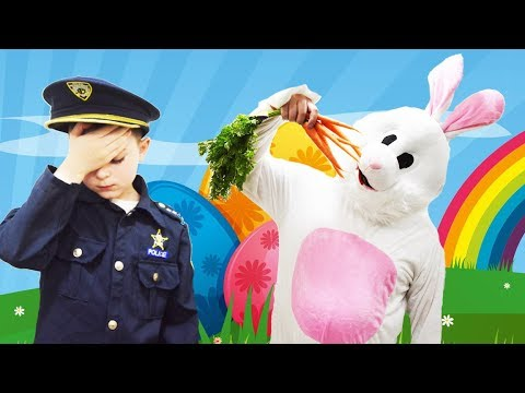 The Silly Easter Bunny and the Missing Carrots Mystery Adventure