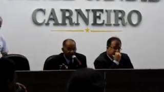 18º SESSÃO DA CÂMARA DE VEREADORES – GERALDO FILHO