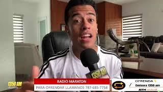 RADIO MARATON SUSTENTO EN TIEMPOS DE CRISIS Eddie Rivera Candelita