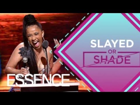 Cardi B's Bodak Yellow Nominated for Grammys and Haters Are Mad | ESSENCE Now Slayed or Shade