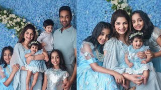 Vishnu Manchu Daughter AYRA 6th Month Photoshoot |Manchu Vishnu Family Latest Images|Manchu Viranica - RAJSHRITELUGU