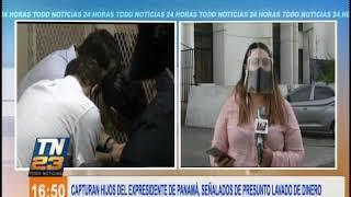 Capturan a hijos del expresidente de Panamá