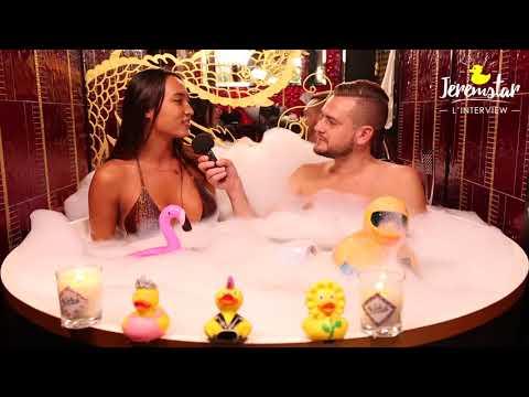connectYoutube - Astrid (Les vacances des Anges 2) dans le bain de Jeremstar - INTERVIEW