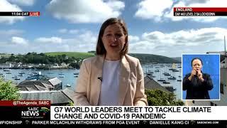 G7 Summit I Laura Makin-Isherwood gives the latest update