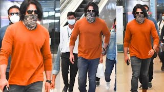 Rocking Star Yash EXCLUSIVE Visuals @ Hyderabad Airport | Tollywood Celebrities Airport Videos - TFPC