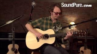 Taylor Custom Grand Auditorium Acoustic Guitar Demo