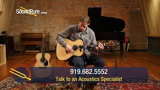 Eastman E10OM Adirondack/Mahogany Acoustic #10555827 Quick 'n' Dirty