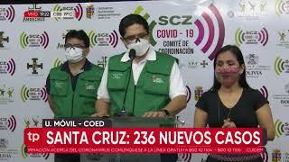 Santa Cruz suma 236 nuevos casos de Covid y los decesos ya llegan a un total de 1.312
