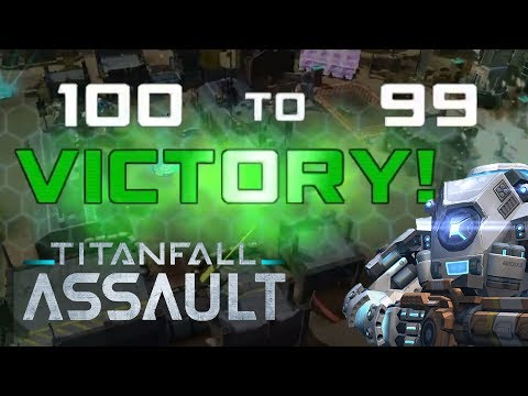 100-99 CLUTCH COMEBACK VICTORY! Titanfall Assault