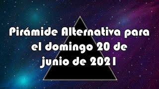 Lotería de Panamá - Pirámide Alternativa para el domingo 20 de junio de 2021