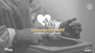 Vive saludable-Continúa vacunación a colaboradores de la CSS