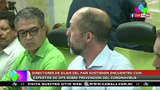 Doctores de SILAIS del país sostienen encuentro con expertos de OPS sobre prevención del coronavirus