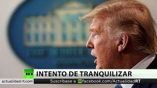 Trump anuncia pruebas gratis de coronavirus y vacaciones fiscales en EE.UU.
