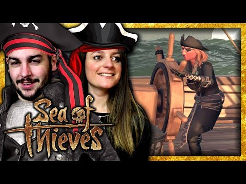 connectYoutube - ON CRÉE NOS PERSONNAGES ! | SEA OF THIEVES COOP FR