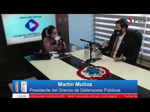 Invitado- Martín Muñoz- Presidente del Gremiode Defensores Públicos Parte 2