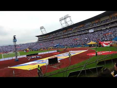 HIMNO NACIONAL DE Honduras - ESTADIO OLÍMPICO DE SAN PEDRO SULA  USA VRS HND
