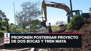 Piden postergar un año construcción del Tren Maya