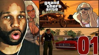 Grand Theft Auto San Andreas Gameplay Walkthrough - PART 1 (Lets Play) (Playthrough)
