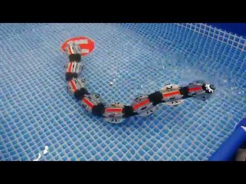 HiBot ヘビ型ロボット ACM-R5H 2017国際ロボット展